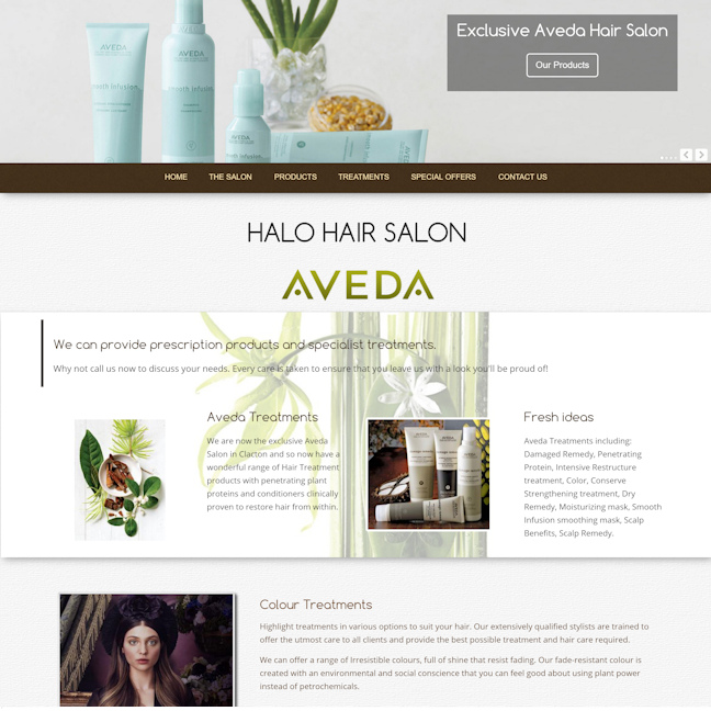 Equestrian websites design portfolio equine for Absolutely flawless salon